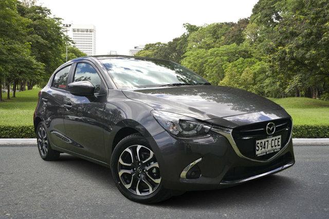 Demo Mazda 2 DJ2HAA Genki SKYACTIV-Drive, 2019 Mazda 2 DJ2HAA Genki SKYACTIV-Drive Machine Grey 6 Speed Sports Automatic Hatchback