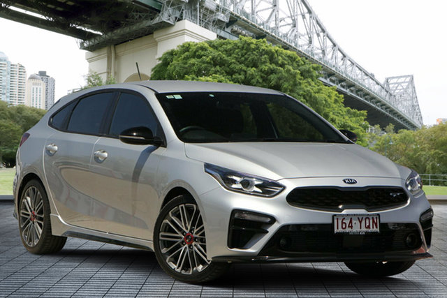 Used Kia Cerato BD MY19 GT DCT, 2018 Kia Cerato BD MY19 GT DCT Silver 7 Speed Sports Automatic Dual Clutch Hatchback