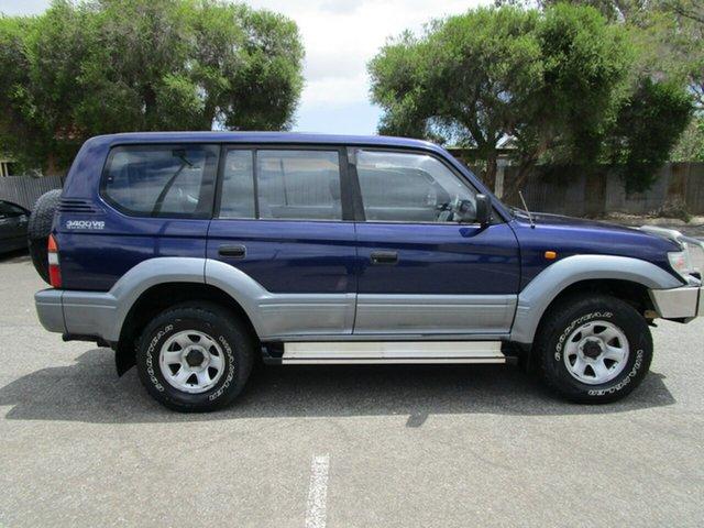 Used Toyota Landcruiser Prado VZJ95R GXL (4x4), 1998 Toyota Landcruiser Prado VZJ95R GXL (4x4) 5 Speed Manual 4x4 Wagon