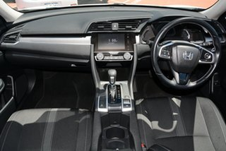2019 Honda Civic 10th Gen MY18 VTi-S White Orchid 1 Speed Constant Variable Sedan