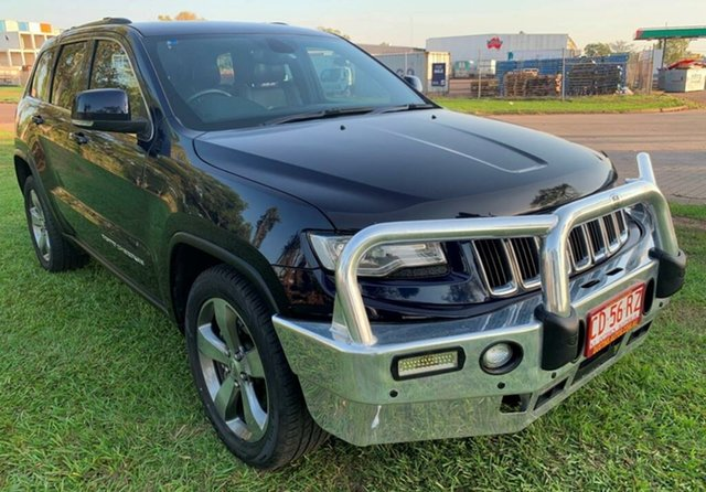 Used Jeep Grand Cherokee WK MY2014 Limited, 2013 Jeep Grand Cherokee WK MY2014 Limited Blue 8 Speed Sports Automatic Wagon
