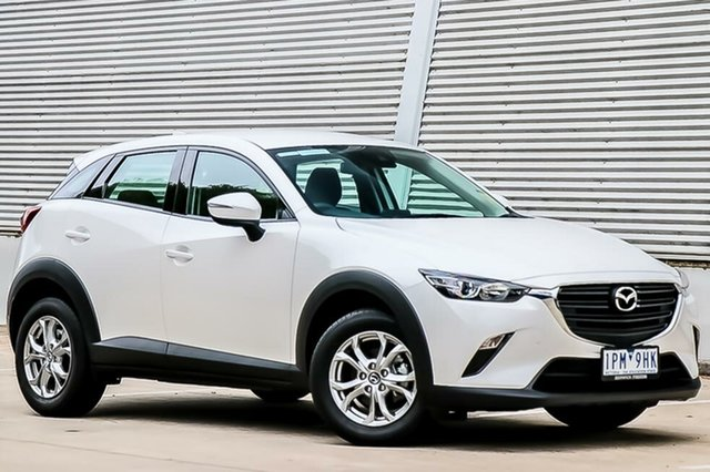 Demo Mazda CX-3 DK MY19 Maxx Sport (FWD), 2019 Mazda CX-3 DK MY19 Maxx Sport (FWD) Snowflake White Pearl 6 Speed Automatic Wagon