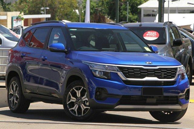 New Kia Seltos SP2 MY20 Sport+ 2WD, 2020 Kia Seltos SP2 MY20 Sport+ 2WD Neptune Blue 1 Speed Constant Variable Wagon