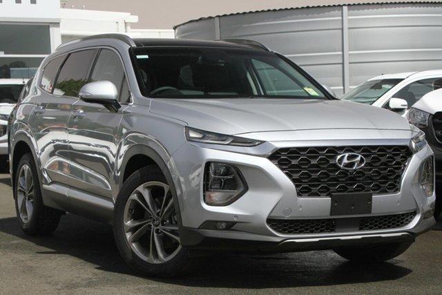 Used Hyundai Santa Fe TM MY19 Highlander, 2018 Hyundai Santa Fe TM MY19 Highlander Silver 8 Speed Sports Automatic Wagon