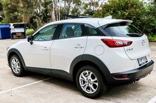 2019 Mazda CX-3 DK MY19 Maxx Sport (FWD) Snowflake White Pearl 6 Speed Automatic Wagon.