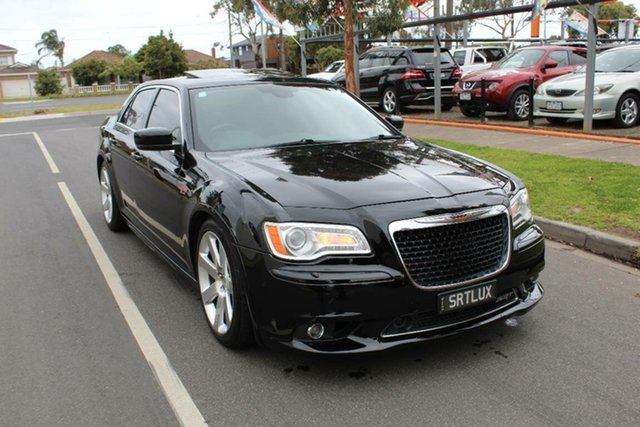 Used Chrysler 300 MY12 SRT8, 2012 Chrysler 300 MY12 SRT8 Black 5 Speed Automatic Sedan