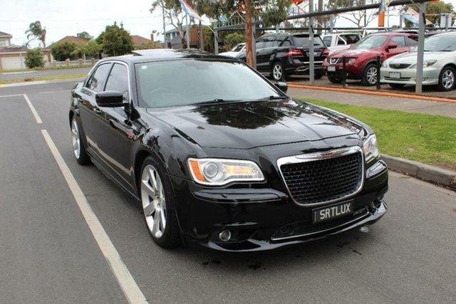 Used Chrysler 300 MY12 SRT8, 2012 Chrysler 300 MY12 SRT8 Black 5 Speed Automatic Sedan