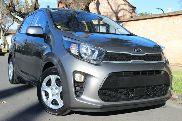 New Kia Picanto JA MY19 S, 2019 Kia Picanto JA MY19 S Titanium Silver 5 Speed Manual Hatchback