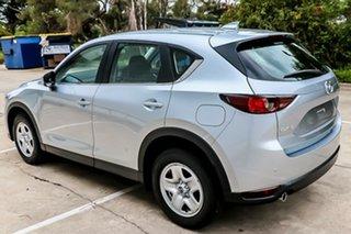 2018 Mazda CX-5 MY18 (KF Series 2) Maxx (4x2) (5Yr) Sonic Silver 6 Speed Manual Wagon.