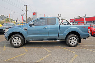 2015 Ford Ranger PX XLT Super Cab Blue 6 Speed Manual Utility