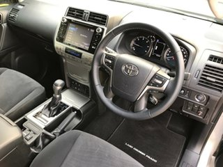 2018 Toyota Landcruiser Prado GDJ150R MY18 GXL (4x4) Silver Pearl 6 Speed Automatic Wagon.