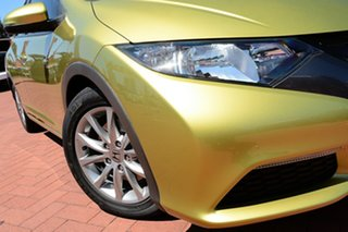 2012 Honda Civic 9th Gen VTi-S Yellow 5 Speed Sports Automatic Hatchback.