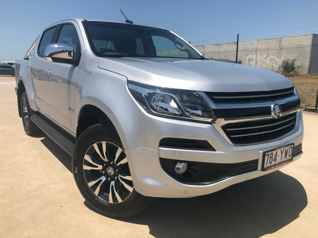 Used Holden Colorado RG MY19 LTZ Pickup Crew Cab, 2019 Holden Colorado RG MY19 LTZ Pickup Crew Cab Silver 6 Speed Sports Automatic Utility