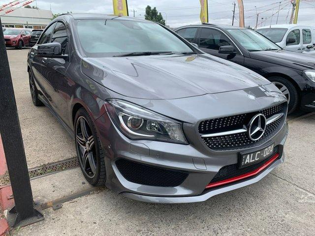 Used Mercedes-Benz CLA-Class C117 807MY CLA250 DCT 4MATIC Sport, 2016 Mercedes-Benz CLA-Class C117 807MY CLA250 DCT 4MATIC Sport Grey 7 Speed