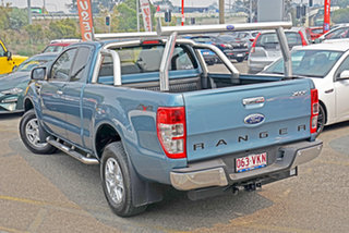 2015 Ford Ranger PX XLT Super Cab Blue 6 Speed Manual Utility.