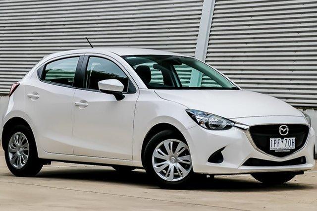 Demo Mazda 2 DJ MY17 Neo (5Yr), 2019 Mazda 2 DJ MY17 Neo (5Yr) Snowflake White Pearl 6 Speed Automatic Hatchback