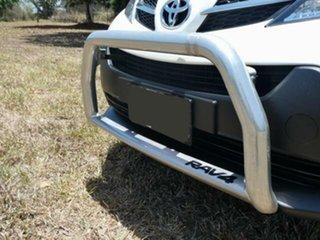 2013 Toyota RAV4 ALA49R GX (4x4) Glacier White 6 Speed Automatic Wagon