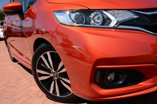 2019 Honda Jazz GF MY19 VTi-S Phoenix Orange 1 Speed Constant Variable Hatchback.
