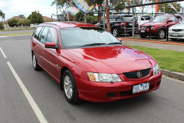 Used Holden Commodore VY II Acclaim, 2003 Holden Commodore VY II Acclaim Maroon 4 Speed Automatic Wagon