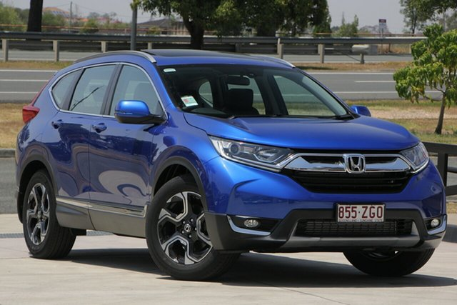 Demo Honda CR-V RW MY19 VTi-L FWD, 2019 Honda CR-V RW MY19 VTi-L FWD Blue 1 Speed Constant Variable Wagon