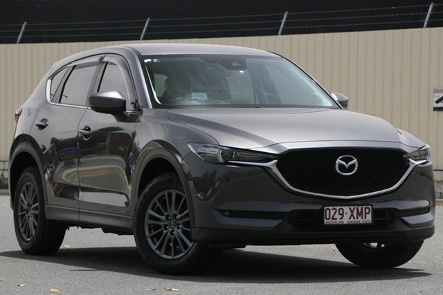 Used Mazda CX-5 KF4WLA Touring SKYACTIV-Drive i-ACTIV AWD, 2017 Mazda CX-5 KF4WLA Touring SKYACTIV-Drive i-ACTIV AWD Black 6 Speed Sports Automatic Wagon