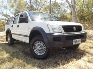 2003 Holden Rodeo RA LX Crew Cab 4x2 4 Speed Automatic Utility.