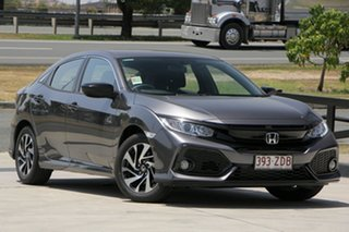 2019 Honda Civic 10th Gen MY19 50 Years Edition Modern Steel 1 Speed Constant Variable Hatchback.