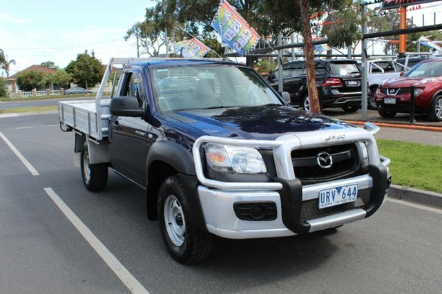 Used Mazda BT-50  B3000 Freestyle DX+ (4x4), 2007 Mazda BT-50 B3000 Freestyle DX+ (4x4) Blue 5 Speed Manual Cab Chassis