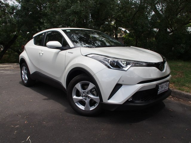 Demo Toyota C-HR NGX10R S-CVT 2WD, 2019 Toyota C-HR NGX10R S-CVT 2WD Crystal Pearl 7 Speed Constant Variable Wagon