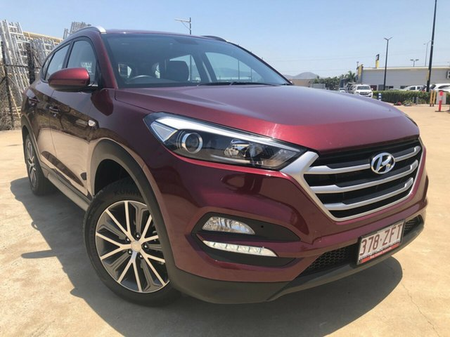 Used Hyundai Tucson TL MY17 Active X 2WD, 2017 Hyundai Tucson TL MY17 Active X 2WD Maroon 6 Speed Sports Automatic Wagon