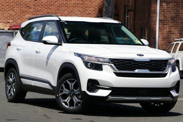 New Kia Seltos SP2 MY20 Sport 2WD, 2019 Kia Seltos SP2 MY20 Sport 2WD Snow White Pearl Constant Variable Wagon