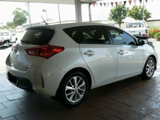 2015 Toyota Corolla ZRE182R Ascent Sport Crystal Pearl 7 Speed CVT Auto Sequential Hatchback.