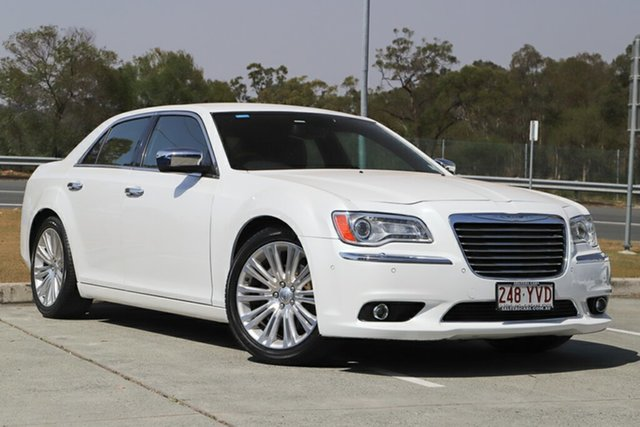 Used Chrysler 300 LX MY13 Limited, 2012 Chrysler 300 LX MY13 Limited White 5 Speed Sports Automatic Sedan