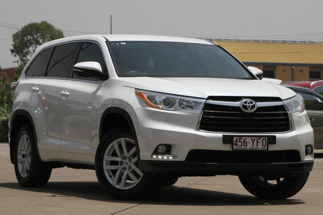 Used Toyota Kluger GSU50R GX 2WD, 2015 Toyota Kluger GSU50R GX 2WD White 6 Speed Sports Automatic Wagon