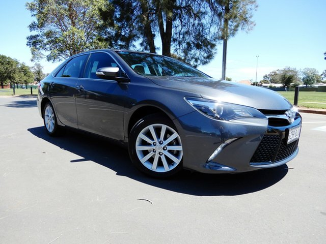 Used Toyota Camry ASV50R Atara S, 2016 Toyota Camry ASV50R Atara S Grey 6 Speed Sports Automatic Sedan