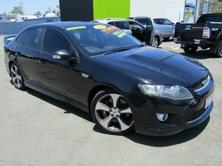 2009 FPV GT-P FG Black 6 Speed Manual Sedan.
