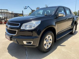 2013 Holden Colorado RG MY13 LTZ Crew Cab Black 5 Speed Manual Utility