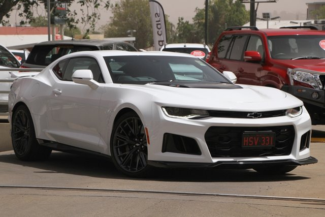 Used Chevrolet Camaro MY19 ZL1, 2019 Chevrolet Camaro MY19 ZL1 White 10 Speed Sports Automatic Coupe