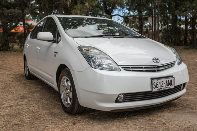 Used Toyota Prius NHW20R , 2007 Toyota Prius NHW20R White 1 Speed Constant Variable Liftback Hybrid