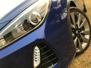 2018 Hyundai i30 PD2 MY18 SR D-CT Intense Blue 7 Speed Sports Automatic Dual Clutch Hatchback