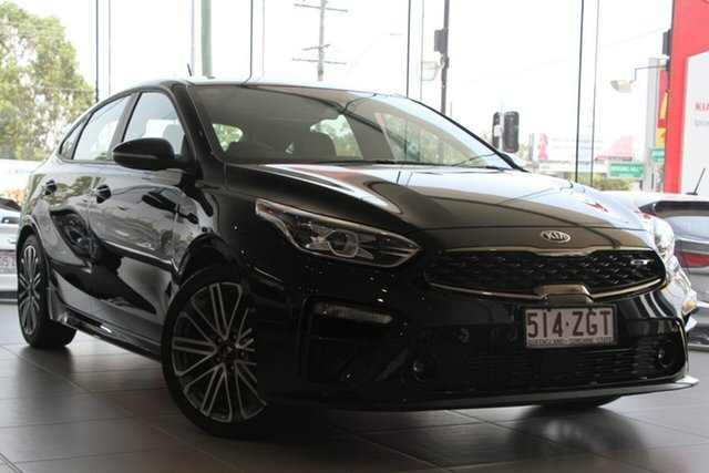 Used Kia Cerato BD MY19 GT DCT, 2019 Kia Cerato BD MY19 GT DCT Aurora Black Pearl 7 Speed Sports Automatic Dual Clutch Hatchback