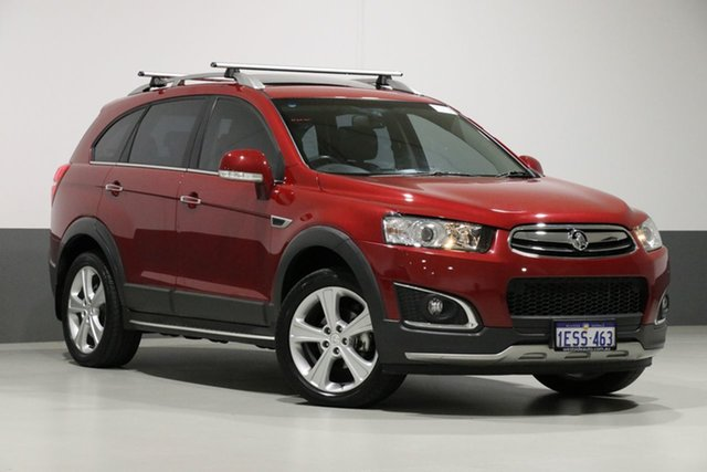Used Holden Captiva CG MY15 7 LTZ (AWD), 2015 Holden Captiva CG MY15 7 LTZ (AWD) Red 6 Speed Automatic Wagon