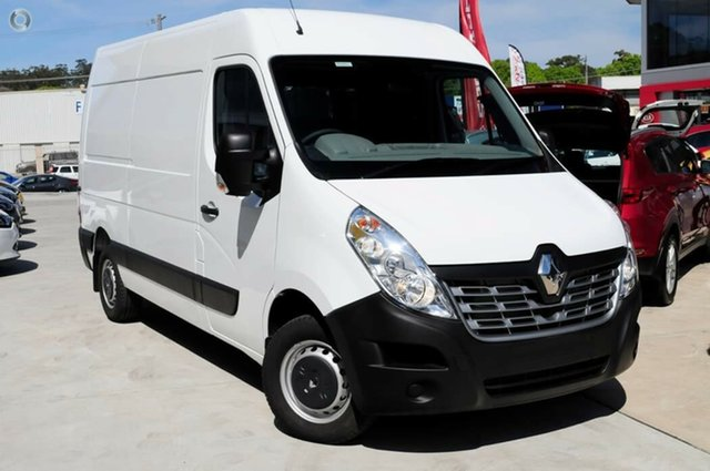 Demo Renault Master X62 Mid Roof MWB AMT, 2019 Renault Master X62 Mid Roof MWB AMT Mineral White 6 Speed Sports Automatic Single Clutch Van