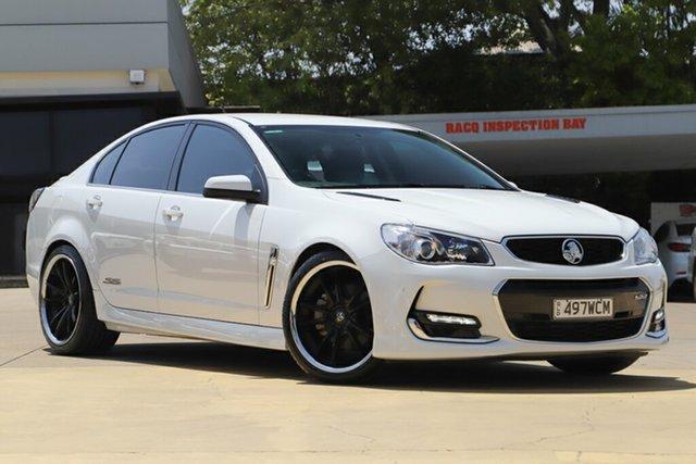 Used Holden Commodore VF II MY16 SS V, 2015 Holden Commodore VF II MY16 SS V White 6 Speed Sports Automatic Sedan