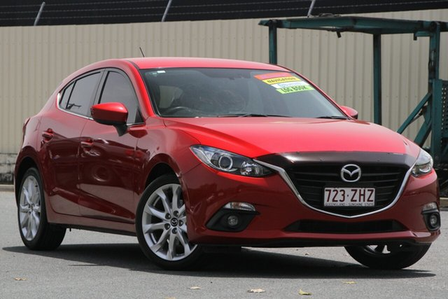 Used Mazda 3 BM5436 SP25 SKYACTIV-MT, 2015 Mazda 3 BM5436 SP25 SKYACTIV-MT Soul Red 6 Speed Manual Hatchback