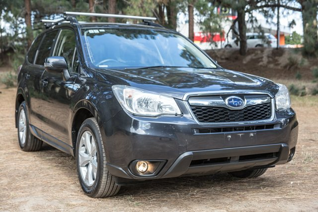 Used Subaru Forester S4 MY15 2.0D-L CVT AWD, 2015 Subaru Forester S4 MY15 2.0D-L CVT AWD Dark Grey 7 Speed Constant Variable Wagon