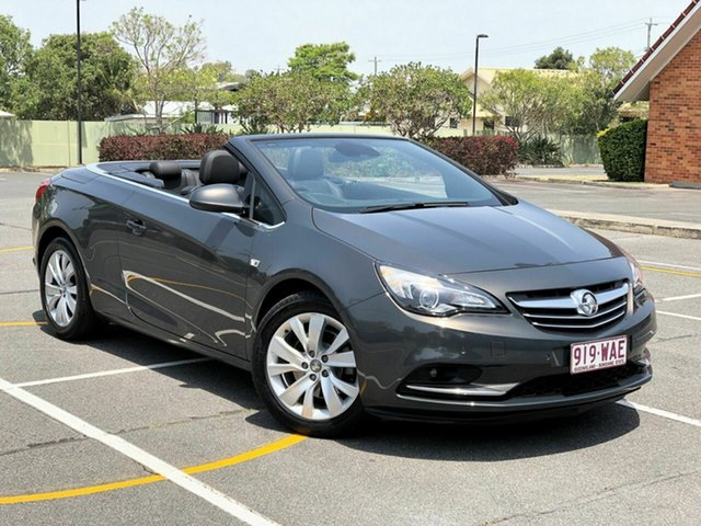 Used Holden Cascada CJ MY15.5 , 2015 Holden Cascada CJ MY15.5 Grey 6 Speed Sports Automatic Convertible