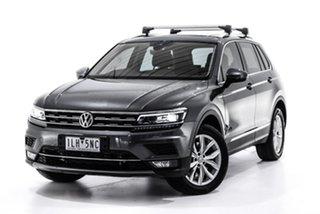 2017 Volkswagen Tiguan 5N MY18 162TSI DSG 4MOTION Highline Grey 7 Speed Sports Automatic Dual Clutch.