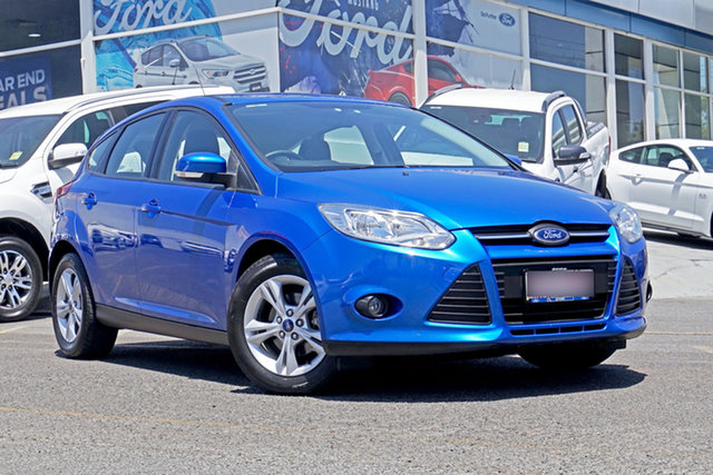 Used Ford Focus LW MkII Trend PwrShift, 2014 Ford Focus LW MkII Trend PwrShift Blue 6 Speed Sports Automatic Dual Clutch Hatchback