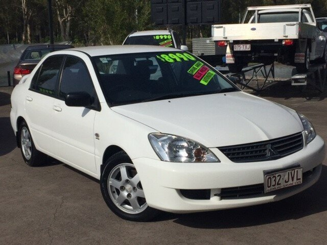 Used Mitsubishi Lancer CH MY06 ES, 2006 Mitsubishi Lancer CH MY06 ES White 4 Speed Sports Automatic Sedan